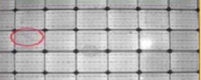 Microcracks in Panel